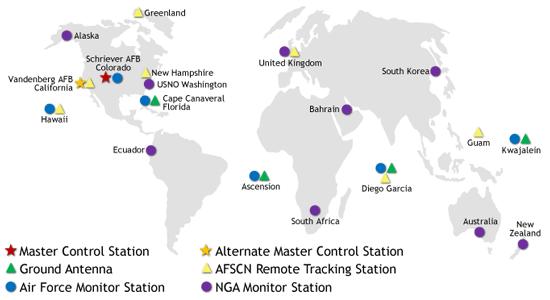 GPS Ground Control Map